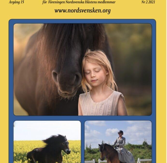 """Nytt nummer av """"Nordsvenska Hästen"""""""